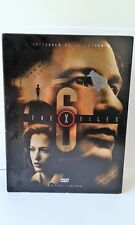 COFFRET 7 DVD VIDEO THE X FILES EDITION LIMITEE SAISON 6