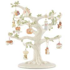 Lenox ~ Set of 12 Ornaments + TREE ~ Autumn Delights ~ Turkey Pumpkin ~ NIB