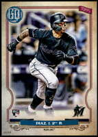 Isan Diaz 2020 Topps Gypsy Queen 5x7 #293 /49 Marlins