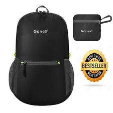 Gonex 20l Packable Backpack for Men Women Foldable Carry on Camping Outdoor Cycl