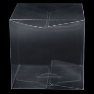 PVC Plastic Packaging Box Transparent Clear Jewelry Gift Candy Craft Pack Boxes