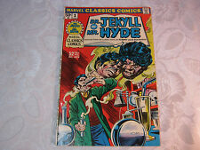 DR. JEKYLL AND MR. HYDE  VOL.1 NO.1  MARVEL CLASSICS COMIC VINTAGE    T*