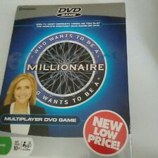 Who Wants to be a Millionaire DVD Game Meredith Viera New Sealed In Box