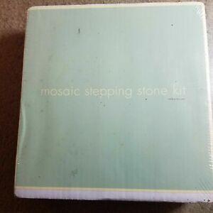 Mosaic Stepping Stone Kit New
