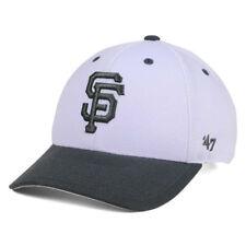 404b2f3e8b6e4 San Francisco Giants  47 MLB 2tone White charcoal MVP Cap Hat One Size