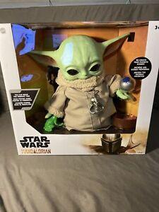 Star Wars Mattel Costco  Mandalorian The Child Baby Yoda Figure w/4 accessories