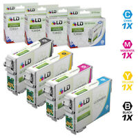 LD Reman Ink Cartridge for Epson T069 Set of 4: T069120 T069220 T069320 T069420