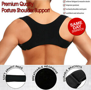 Back Support Posture Clavicle Corrector Straight Shoulders Brace Strap Corrector