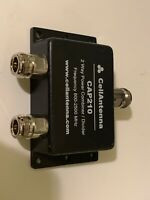 Cell Antenna CAP210 2 Way Power Combiner/Divider Frequency 800-2500 MHz