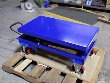 Worksmart Hydraulic Scissor Lift Cart 770 Lb Capacity 35 X 20 Platform Repair