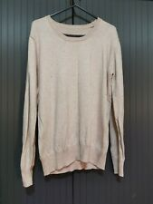 WOMEN LADIES BASIC KNITTED CASUAL COSY  WINTER JUMPER  TOP SIZE S
