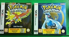 POKEMON GOLD + SILVER EDITION DCC NEW ENGLISH NINTENDO 3DS GAMEBOY BOX