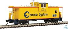HO-WALTHERS Mainline 910-8704 C&O - CHESSIE SYSTEM Int'l Ext Wide Vision Caboose