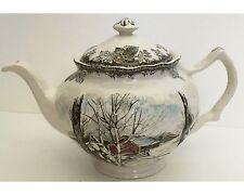 Johnson Brothers The Friendly Village Sugar Maples Teapot Tea Pot