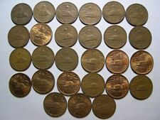 Mexico 1943 - 1974 complete 20 centavo collection of 26 coins #3