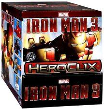 MARVEL HEROCLIX: Iron Man 3 Display box Avengers Initiative 24packs