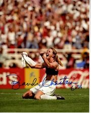 BRANDI CHASTAIN Signed Autographed USA OLYMPIC SOCCER Photo