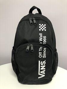 Vans Black Backpack Rucksack Bag