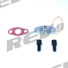 Rev9 T3 T3T4 T60 T70 T76 Turbo Oil Feed 4an Adaptor Adapter Built In Restrictor