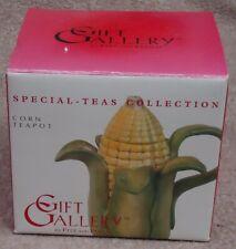 Fitz & Floyd Gift Gallery Special-Teas Collection ~ Corn Mini Teapot ~ Mib
