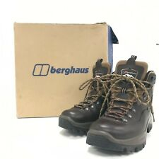 Berghaus Boots Brown Leather Size UK 7 Gore-Tex Lace Up Men's Outdoor 341281