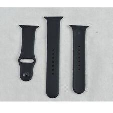 New Genuine Official Original Apple Watch 42mm S M L Sport Band Strap Black