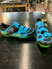 Pearl Izumi X-Project Mountain Cycling Shoes- Men's- Blue/Lime- Size 44