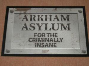 """Arkham Asylum For The Criminally Insane"" Fun Welcome Door Mat - New"