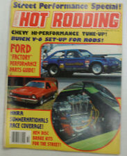 Popular Hot Rodding Magazine Ford Factory & Buick V-6 October 1977 NO ML 051115R