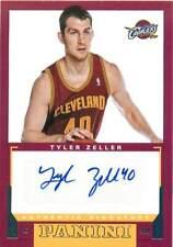 2012-13 Panini Rookie Signatures #16 Tyler Zeller Auto
