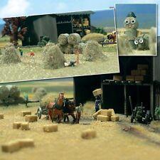 OO/HO Farm scenery - Hay bales & stacks, straw bales - Busch 1212 P3