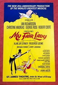 My Fair Lady Window Card
