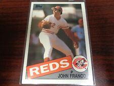 1985 Topps John Franco #417 ROOKIE CARD-Nrmt!-METS-REDS
