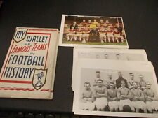 More details for my wallet of famous teams in football history the new hotspur team cards various