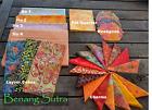Batik Fabric Stash Sewing Craft Quilting Fat Quarter Charms Layer Cakes Orange
