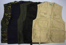 Zip Unbranded Polyester Casual Waistcoats for Men