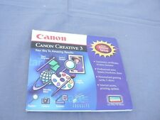 Canon Creative 3, Includes Printer Setup - Your Key to Amazing Results Windows