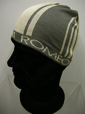 Cappello cuffia unisex hat ROMEO GIGLI art.MC1402G col.1 beige Italy