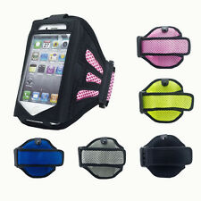 Sports Running Gym Armband Mesh Case Cover Pouch Mobiles IPhone 4 5 5S