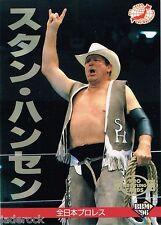 Stan Hansen 1996 BBM All Japan Pro Wrestling #55 NJPW AJPW WCW WWF AWA NWA CWA