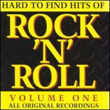 Vol. 1-Hard To Find Hits Of Ro - Hard To Find Hits Of Rock  (1995, CD NEUF) CD-R