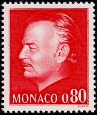 """MONACO N° 993 """"NOUVELLE EFFIGIE DU PRINCE, 80 C ROUGE""""NEUF xxTTB"""
