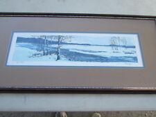 WINTER BIRCHES by Artist Bryan  SIGNED  247/300 Serigraph W/COA