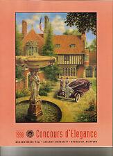 1998 20th Meadow Brook Hall Concours d'Elegance Program Original Excellent Last1