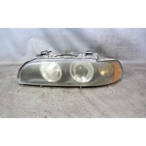Damaged 2001-2003 BMW E39 5-Series Late Left Front Halogen Headlight Lamp White