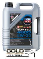5W 30 Top Tec 4600 Liqui Moly 5 Liter Motoröl 5w-30 Liqui Moly dexos2 BMW LL04