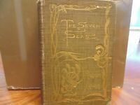 """""""The Seven Seas"""" by Rudyard Kipling 1896 1st Edition Good Condition"""