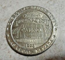 Sam Boyd's Fremont Casino One Dollar Gaming Token Downtown Las Vegas Nv $1 1996