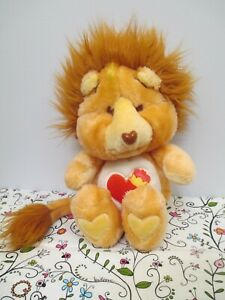 Care Bear Cousins Plush Brave Heart Lion by Kenner, American Greetings 1984