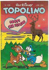 TOPOLINO N° 1596 - 29 GIUGNO 1986